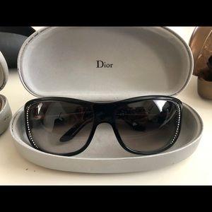 Dior black sunglasses